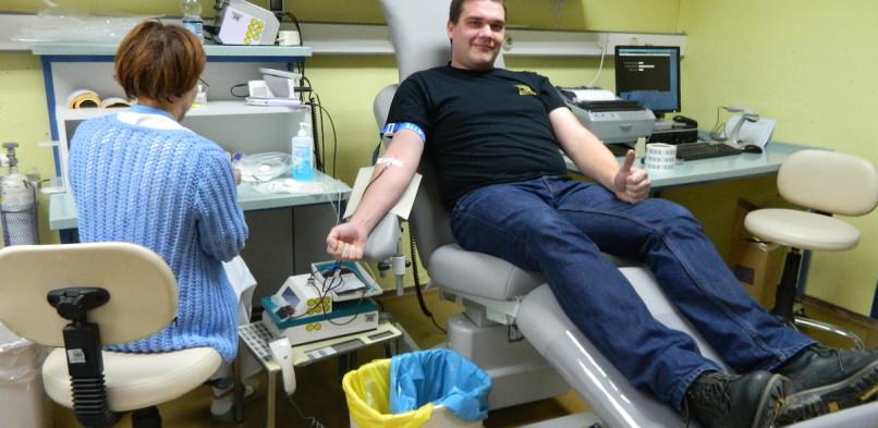 Martjanski Rotarijci darovali kri