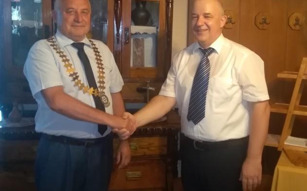 Novi predsednik Rotary kluba Martjanci