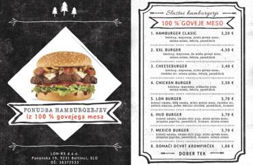 LON SR - cenik hamburgerjev